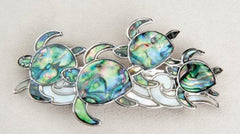 Hair Barrette - Sea Turtles - NEW!