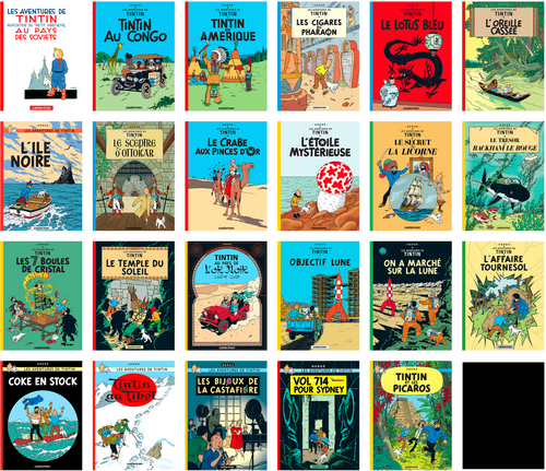 TINTIN _ collection complète