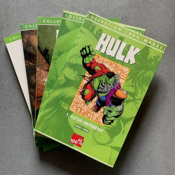 Hulk - Lot de 5 albums - Collection 100% Marvel - T.1 à T.5