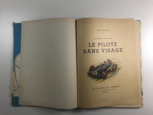 MICHEL VAILLANT  _  Le Pilote sans Visage, album de collection, bande dessinée de collection