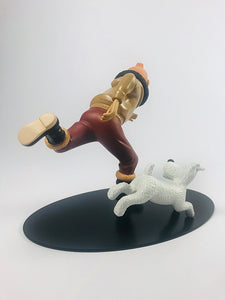 Figurine collector de TINTIN aviateur