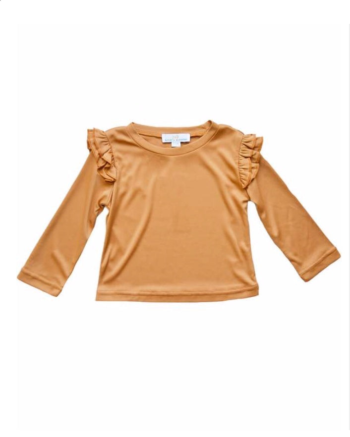 BB Embry L/S Top - Pumpkin Spice