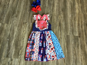 Red White Blue Jar dress