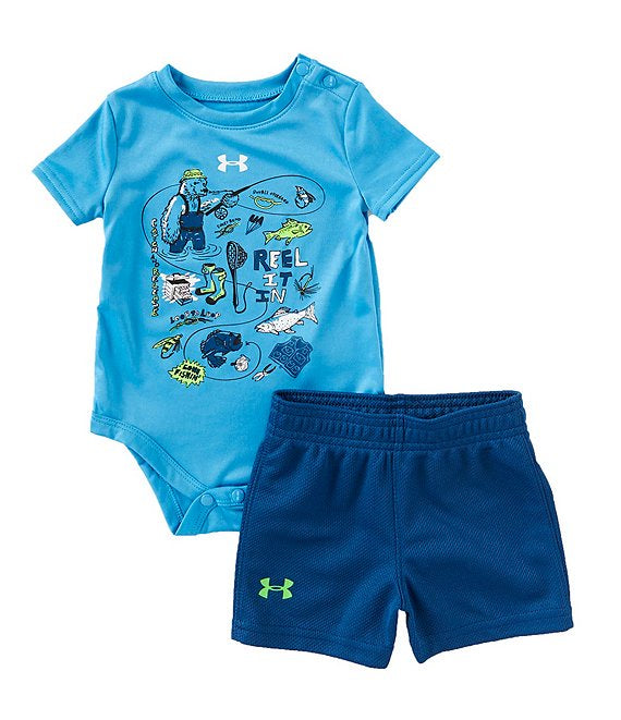 Under Armour Blue /Navy 2pc Set