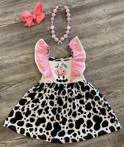 Cute Cow Dress