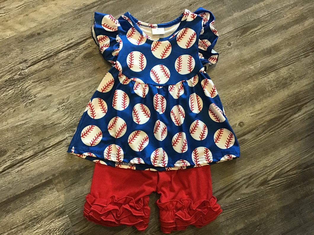VK 20 Baseball short Set