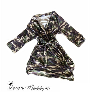 Camo Robe-One Size
