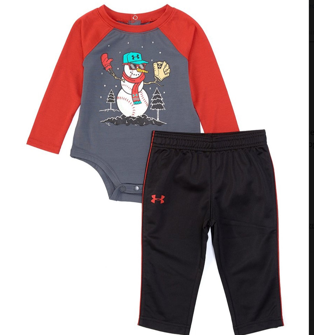 UA Baseball Snowman Set Infant