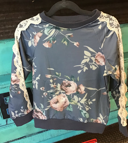 ML Fashion Floral LS Top
