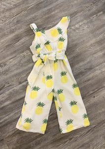 Bella Romper - Pineapple