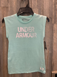 Under Armour girls' sleeveless