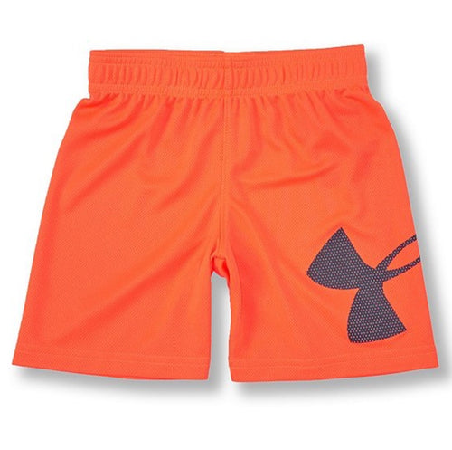 UA Shorts Orange Spark