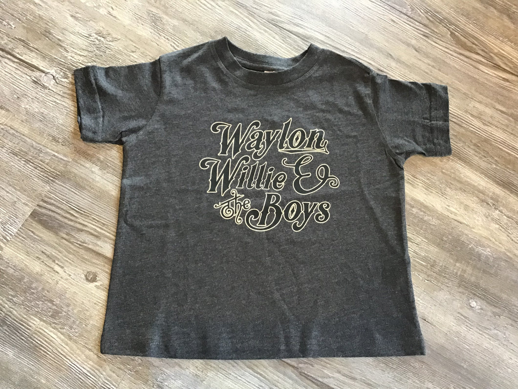 Waylon, Willie and The Boys T-shirt
