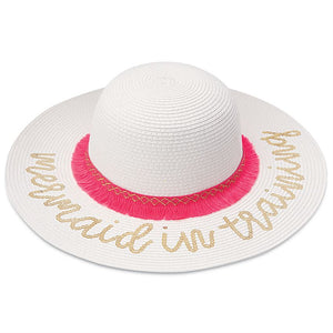 Mudpie beach hat (white)