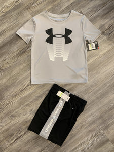 Under Armour grey/black set