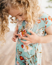 Load image into Gallery viewer, Flyaway Floral Romper