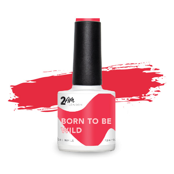 Born To Be Wild Gel Polish 7.5ml - 2AM LONDON