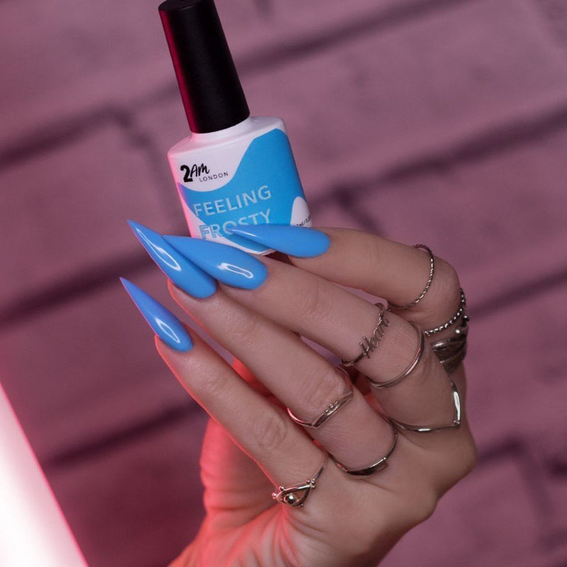 Feeling Frosty Gel Polish 7.5ml - 2AM LONDON