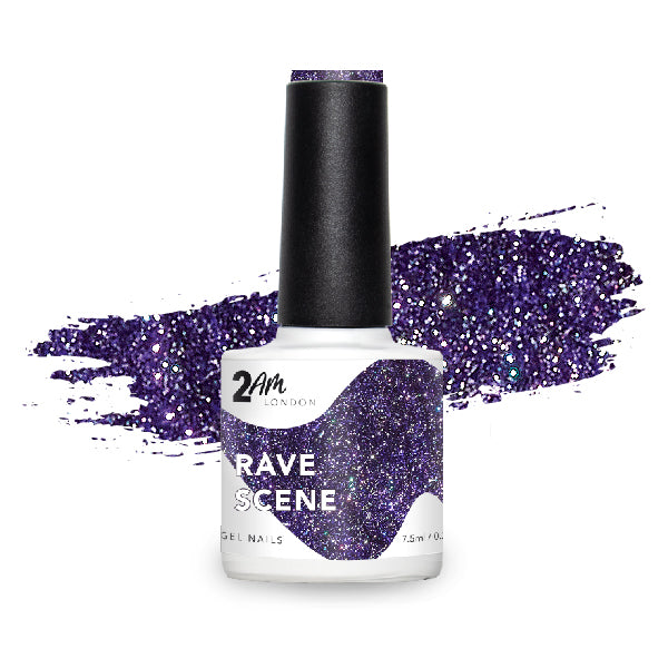 Rave Scene Gel Polish 7.5ml - 2AM LONDON