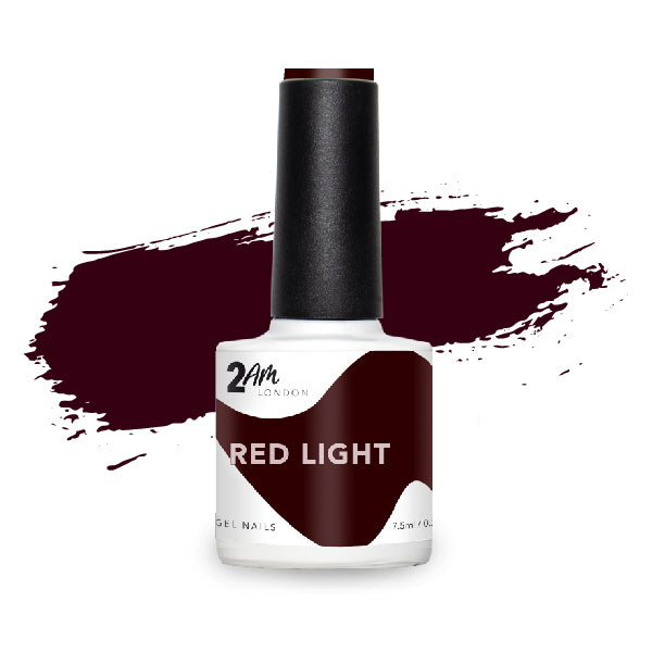 Red Light Gel Polish 7.5ml - 2AM LONDON