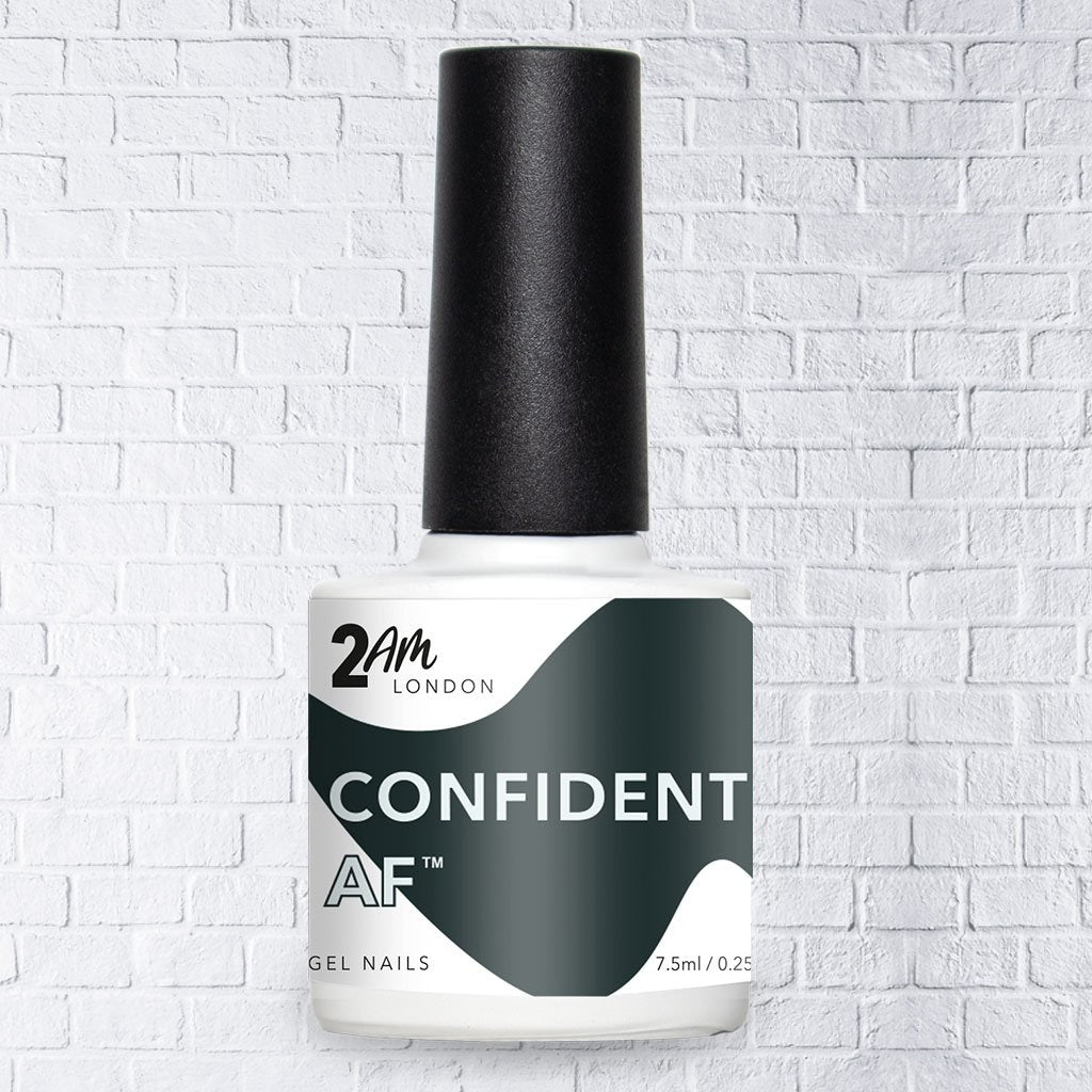 Confident AF Gel Polish 7.5ml - 2AM LONDON