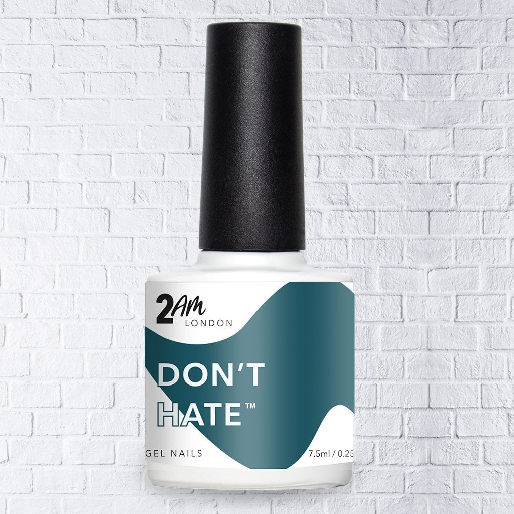 Don't Hate Gel Polish 7.5ml - 2AM LONDON