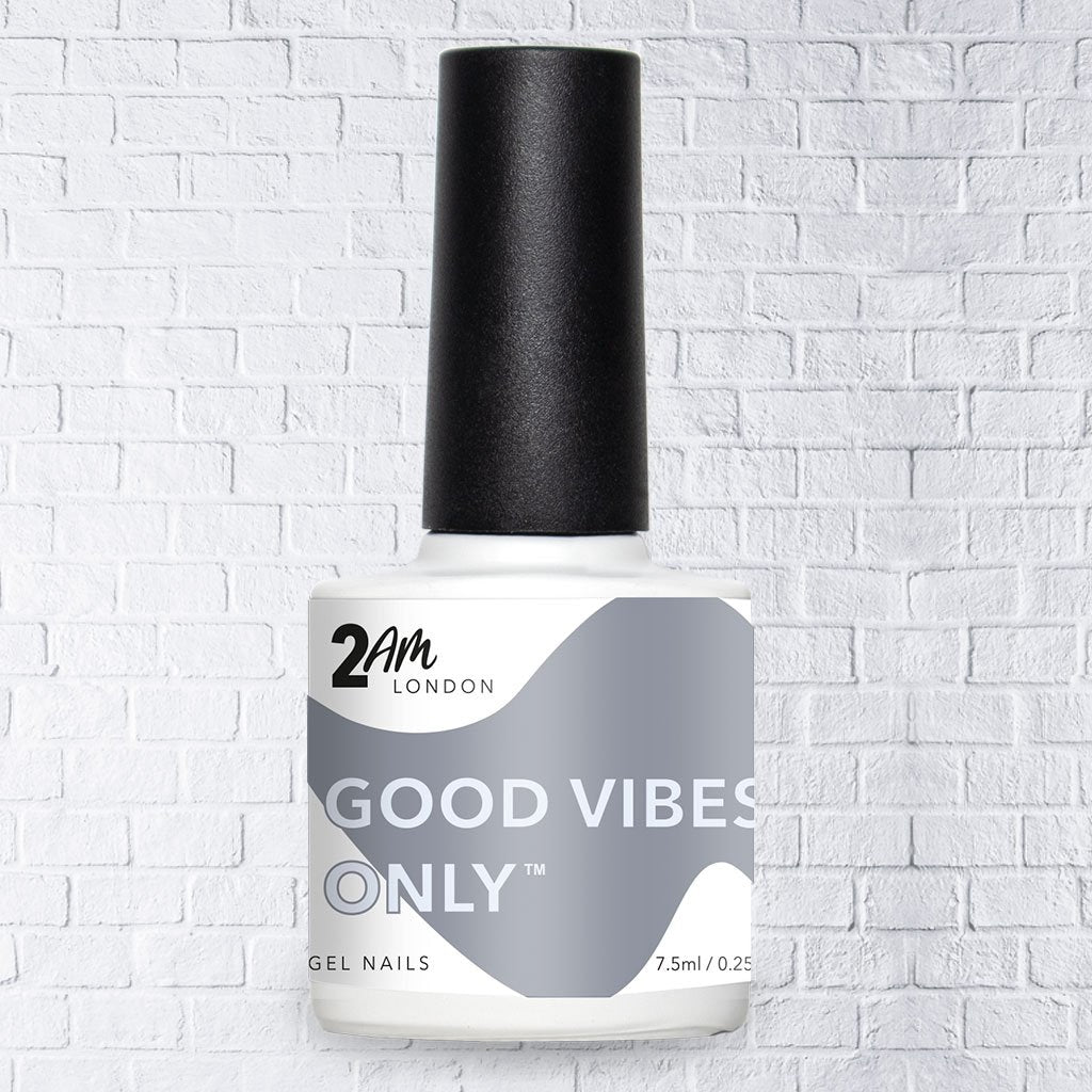 Good Vibes Only Gel Polish 7.5ml - 2AM LONDON