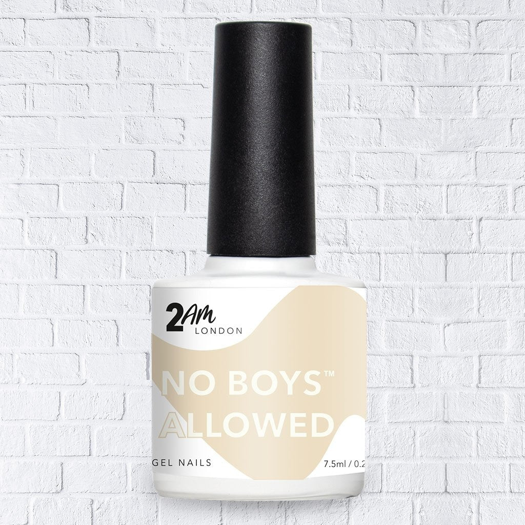 No Boys Allowed Gel Polish 7.5ml |  - 2AM London