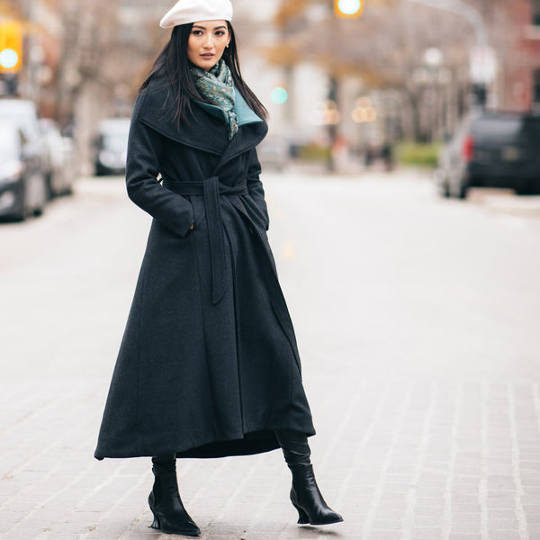 Must Haves for Fall 2020 - Coat with Dramatic Collar