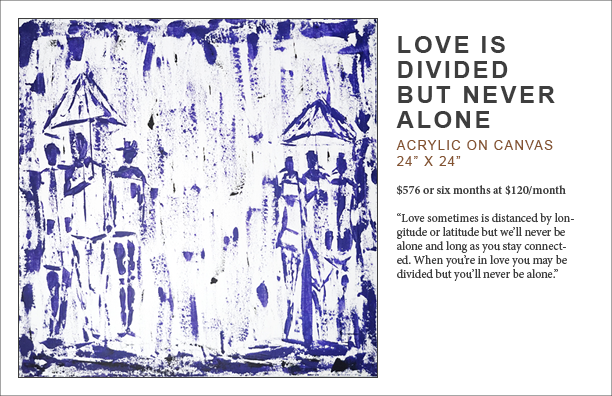 Lennard taylor_love is divided but never alone_art