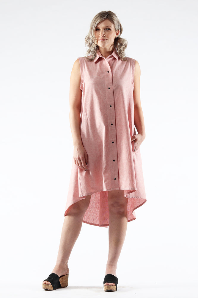 AMANDA Dress - Linen/Cotton