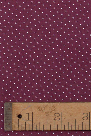burgundy puzzle Print Close Up - Lennard Taylor