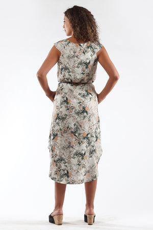 Shift Dress - DENISE - floral - back - Lennard Taylor