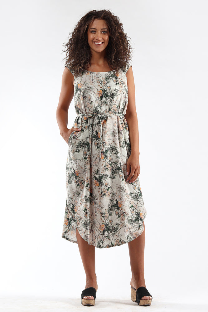 Shift Dress - DENISE - floral - front - Lennard Taylor