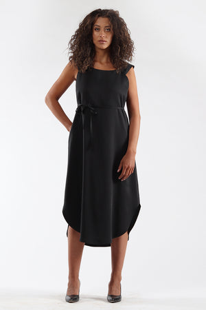 Shift Dress - DENISE - black - front - Lennard Taylor
