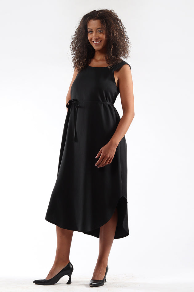 Shift Dress - DENISE - black - Side - Lennard Taylor