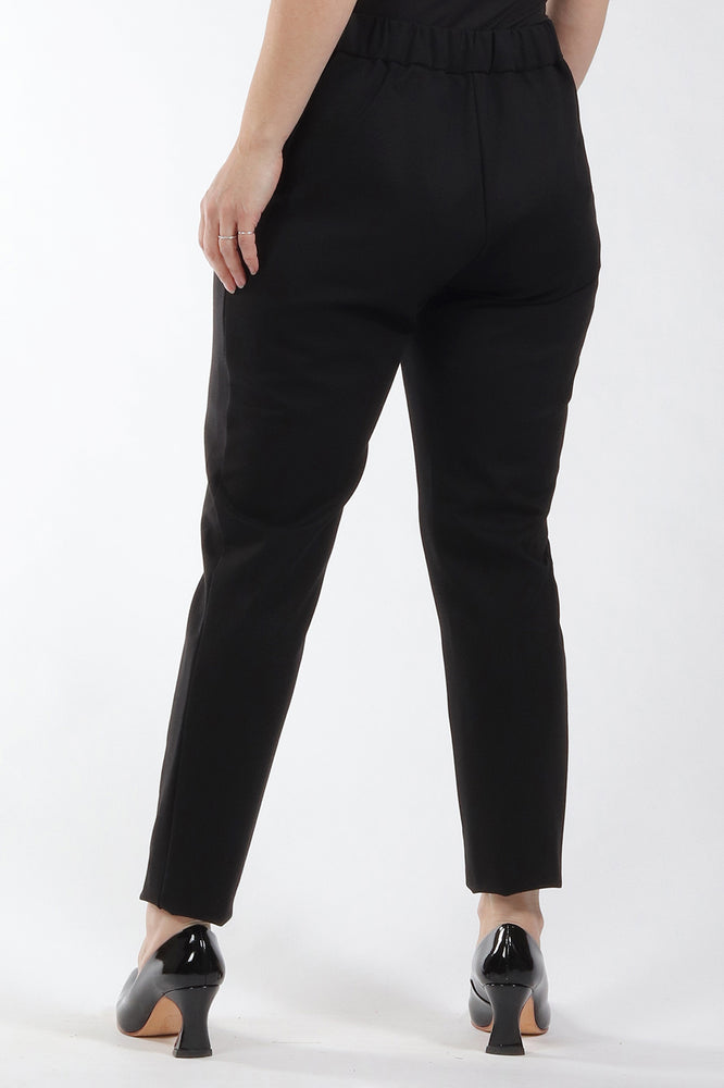 Black Esther pant - back view - Lennard Taylor