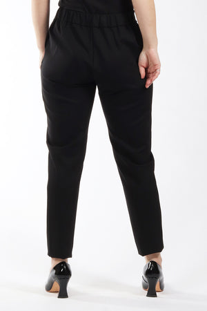 Black Esther pant - back view 2 - Lennard Taylor