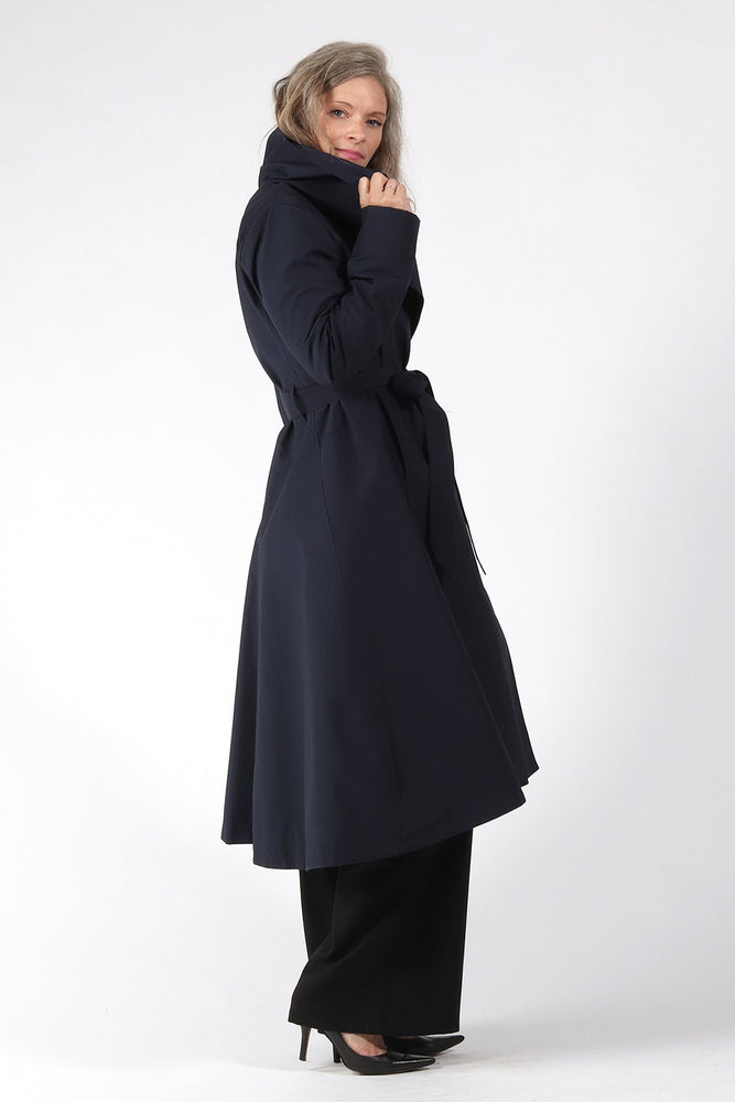 Jocelyn Jacket - navy - side - Lennard Taylor