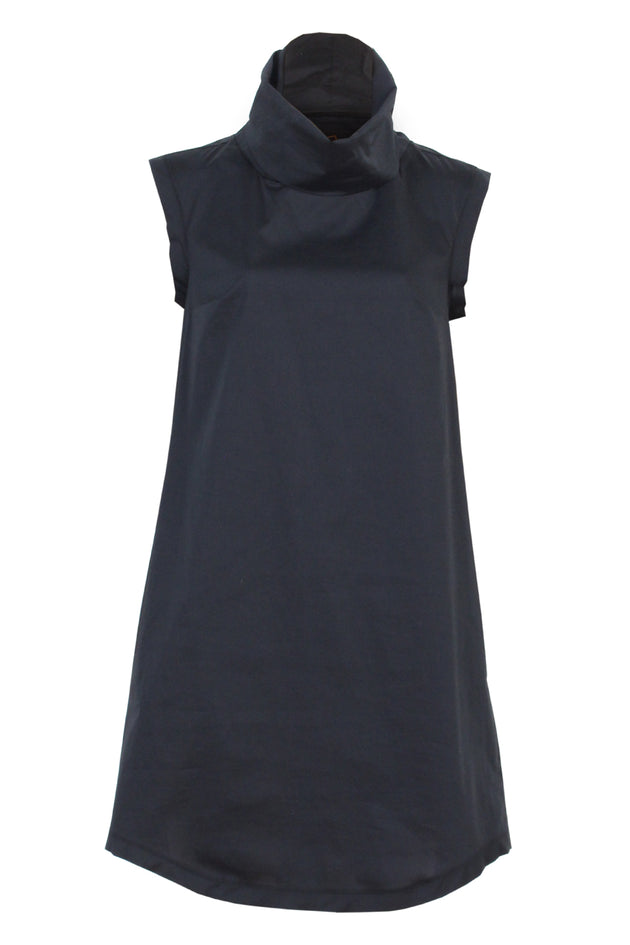 Krystle Dress - Black - Flat lay - Lennard Taylor