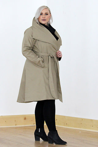 CARMYN Coat - Black Wool