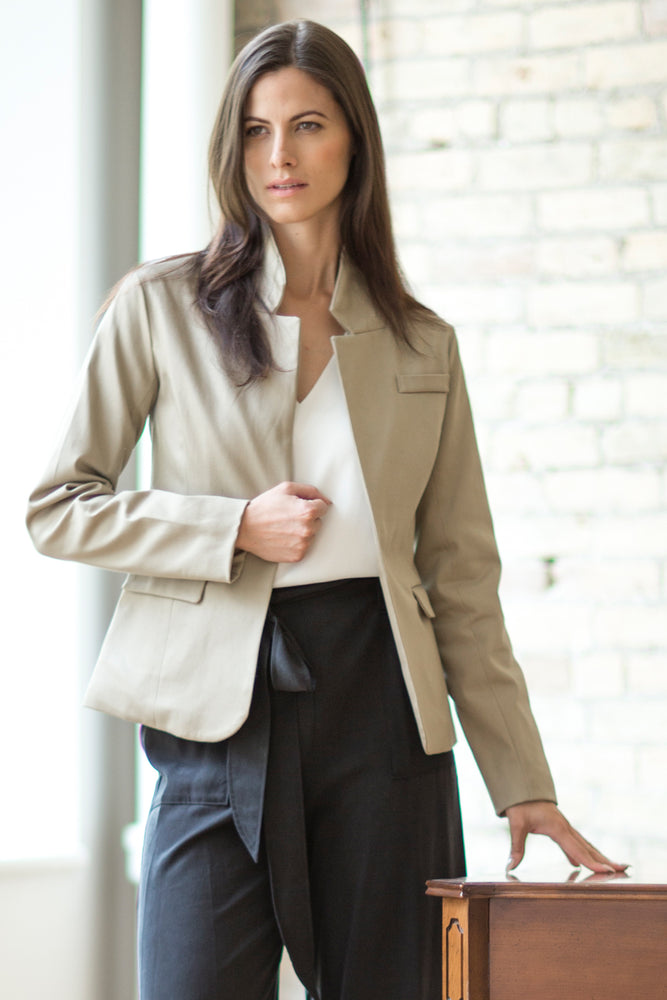 AUDREY Blazer - Cotton Twill