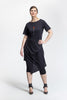 Black Jacq Dress_front view_Lennard Taylor