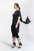 Black Jacq Dress_side view_Lennard Taylor