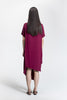 Burgundy Jacq Dress_back view_Lennard Taylor