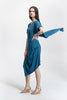Teal Jacq Dress_side view_Lennard Taylor