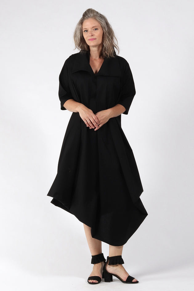 One of a kind #00259 - Black dress - front - Lennard Taylor