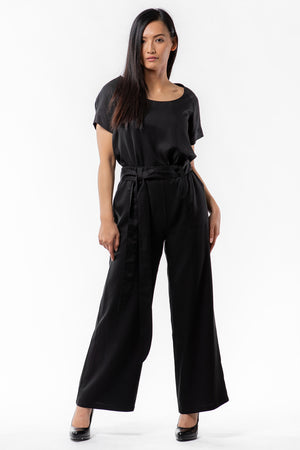 VICTORIA Pant - black - Front View - Lennard Taylor