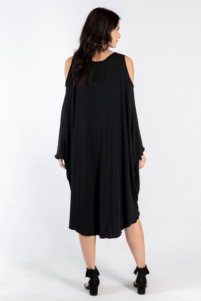 black Sigra dress - back - Lennard Taylor