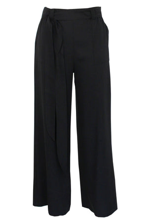 black Victoria pant - tencel - ghost image - Lennard Taylor